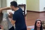 Clip sốc: Chồng đánh đập, bóp cổ vợ trên sóng truyền hình trực tiếp