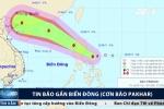 Bão số 6 vừa qua, bão Pakhar lại tăng cấp, hướng thẳng Biển Đông