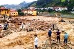 Những hình ảnh tang thương, đau xót sau lũ quét khủng khiếp ở Yên Bái, Sơn La