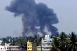 Clip: Máy bay biểu diễn Ấn Độ đâm nhau rơi xuống đất khi tập luyện