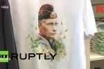 Cửa hàng ở Nga đua nhau tung sản phẩm ăn theo Tổng thống Putin