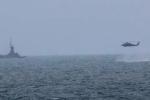 Máy bay Hải quân Mỹ rơi ở Thái Bình Dương