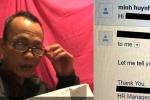 Công ty Mỹ miệt thị ông bố gốc Việt khiến dân mạng dậy sóng