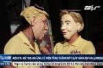 Mặt nạ Trump và Clinton 'cháy' hàng dịp Halloween
