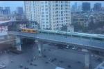 Sự thật 4 toa tàu Cát Linh - Hà Đông chạy thử ở đường sắt trên cao