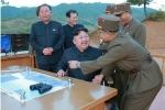 Ảnh hiếm trong vụ phóng tên lửa mới đây của Triều Tiên