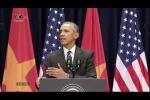 Clip: Obama chia sẻ 'sự thân thiện của người Việt chạm tới trái tim tôi'