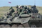 Pháo binh, tăng thiết giáp Nga tập trận gần Ukraine