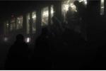 Clip: Bên trong tàu điện ngầm xảy ra vụ nổ thứ ba ở Brussels