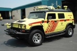 Dubai trang bị siêu xe cho cứu hỏa và cứu thương