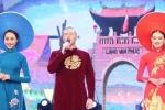 Kyo York diện áo dài thêu bằng vàng trong 'Dáng lụa ngày xuân'