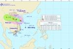 Bão số 2 mạnh cấp 9 áp sát các tỉnh Thanh Hóa - Hà Tĩnh