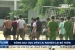 Clip: Học viên cai nghiện đốt trại, ném đá cảnh sát ở Đồng Nai được đưa trở lại trung tâm