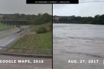 Sửng sốt khi xem clip so sánh Houston trước và sau siêu bão Harvey