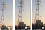 Người đàn ông thoát chết hy hữu sau khi bị điện cao thế giật, rơi tự do hơn 30 m