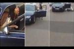 Nữ tài xế hét vào mặt CSGT, suýt bị ôtô của chính mình cán qua
