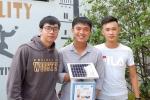 Sinh viên Đà Nẵng sáng chế hệ thống cảnh báo mức độ ô nhiễm môi trường