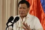 Tổng thống Duterte: Philippines không muốn kích động chiến tranh với Trung Quốc