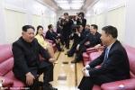 Ảnh hiếm trong tàu đưa ông Kim Jong-un thăm Trung Quốc
