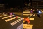 Hai xe máy đối đầu, 4 người bất tỉnh nằm la liệt giữa đường