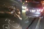 Ô tô tông xe máy, cả gia đình thương vong
