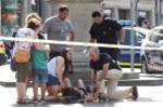 Nhân chứng khủng bố Barcelona: Xe tải lao như cán qua ruộng ngô