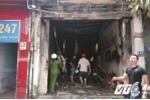 Cháy dữ dội cửa hàng sơn, 3 người thương vong ở Sài Gòn