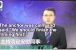 Video: Động đất rung chuyển trường quay, biên tập viên vẫn bình thản ghi hình