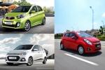 Bộ 3 ô tô cỡ nhỏ, giá rẻ thống trị doanh số thị trường Việt