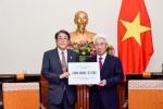 Chinh phu Viet Nam ho tro Nhat Ban 100.000 USD khac phuc hau qua mua lu hinh anh 1