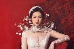 Á hậu Tú Anh lộng lẫy trong bộ váy cưới đính kim cương 3 tỷ đồng của Lek Chi