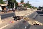 Xe tải tông xe máy, 3 người thương vong ở Bình Định