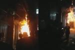Con rể tưới xăng đốt nhà bố vợ trong đêm ở Hà Nội