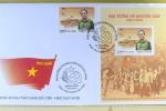 Thủ tướng đóng dấu phát hành bộ tem tôn vinh Đại tướng Võ Nguyên Giáp