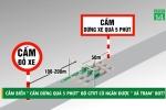 Cắm biển 'cấm dừng quá 5 phút', Bộ GTVT có ngăn được xả trạm BOT?