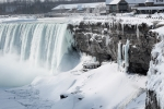 Video: Lạnh kỷ lục, thác Niagara đóng băng trắng xóa, đẹp như tiên cảnh