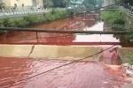 Bí ẩn dòng sông máu đỏ tươi, bốc mùi tanh nồng ở Trung Quốc