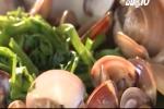 Cách nấu canh ngao rau muống giải rượu, giải nhiệt