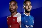 Trực tiếp Arsenal vs Everton vòng 6 Ngoại Hạng Anh