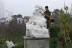 Gần 20 pho tượng La Hán bị đập phá tại Hà Nội: Điều tra làm rõ vụ việc