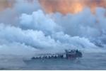 Nhân chứng kể lại giây phút 'bom dung nham' bắn từ núi lửa xuyên thủng tàu du lịch