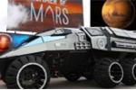 NASA công bố xe thám hiểm sao Hỏa giống siêu xe của Batman