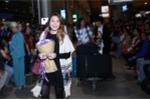 Mỹ Tâm bất ngờ được học trò cưng ra sân bay đón