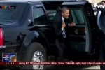 Clip: Mục sở thị những phương tiện đặc nhiệm chuyên chở Tổng thống Mỹ