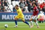 Trực tiếp West Ham vs Chelsea, vòng 6 Ngoại hạng Anh 2018