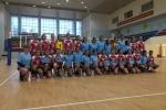 Vận động viên bóng chuyền Mỹ giao lưu tại Việt Nam