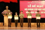 4 giảng viên xuất sắc nhất Học viện An ninh nhân dân 2018