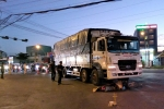 Va chạm với xe tải, người đàn ông đi xe máy chết thương tâm