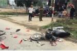 Hai xe máy đối đầu, 3 người thương nặng
