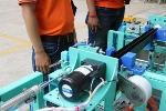 """Chuyển giao thành công hệ thống máy quấn bó """"made in Vietnam"""" cho doanh nghiệp Nhật Bản"""